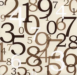 Briefly looking at numerology