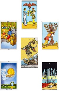Ambers Tarot online Angel and Oracle card readings